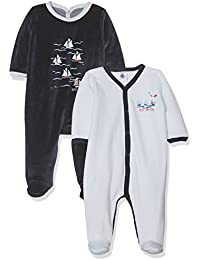 Petit Bateau Lot 2p Dors Bien 2555998, Pyjama Bébé Garçon