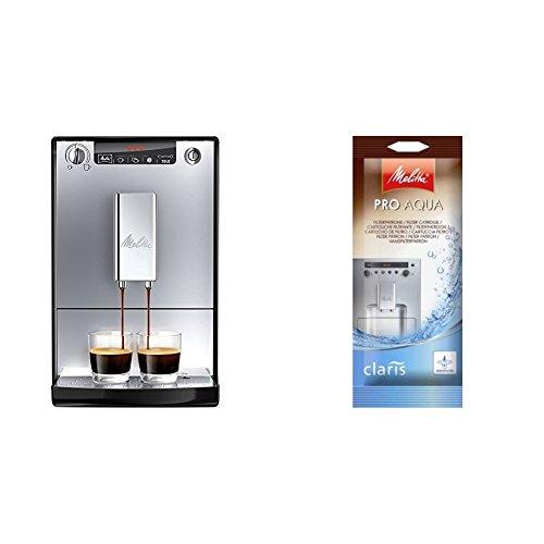 Melitta Caffeo Solo E950-103  Schlanker Kaffeevollautomat mit Vorbrühfunktion / 15 Bar /...