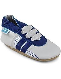 Chaussures Bébé - Chaussons Bébé - Chaussons Cuir Souple - Chaussures Cuir  Souple Premiers Pas - 22331bfa3817