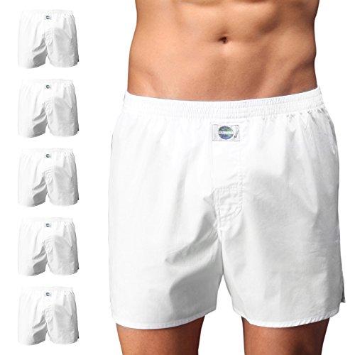 D.E.A.L International 5er-Set Boxershorts, Weiss Size L