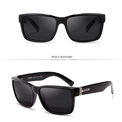 WWVAVA Sonnenbrillen New Arrival Sport Sunglasses Polarized Men Square Sun Glasses Outdoor Women Brand Design 2019 Summer UV400 With Brand Case,c11