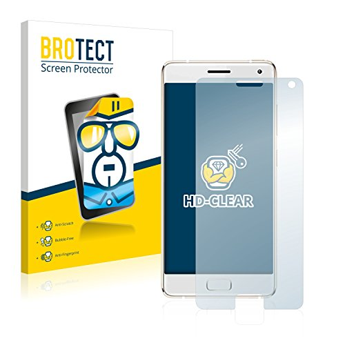 BROTECT Schutzfolie kompatibel mit ZUK Z2 Pro [2er Pack] - klarer Displayschutz