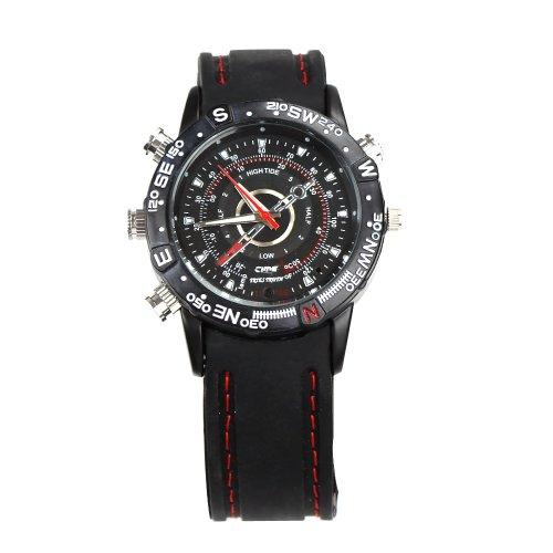 Armbanduhr, wasserdicht, mit Mini-DVR-Kamera, 8Gb 2M Pixel HD