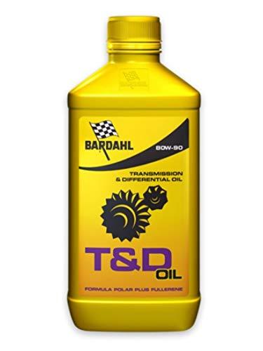 BARDAHL OLIO TRASMISSIONE & DIFFERENZIALI T&D OIL 80W-90