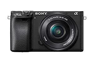 Sony Alpha ILCE-6400L 24.2MP Mirrorless Digital SLR Camera (Black) with 16-50mm Power Zoom Lens (APS-C Sensor, Real-Time Eye Auto Focus, 4K Vlogging Camera, Tiltable LCD) - Black