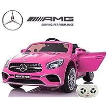 Mercedes SL65 con Mando y batería 12v - Rosa