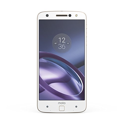 "Moto Z - Smartphone Libre de 5.5"" (Bluetooth, Qualcomm Snapdragon 820, 4 GB de RAM, 32 GB, cámara de 13 MP, Android 6) Blanco"