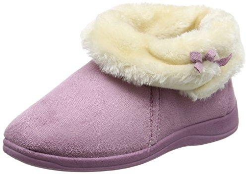 Dunlop Bessie, Chaussons femme - Violet (Powder Pink), 37