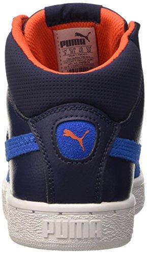 Puma , Jungen Sneaker blau Peacoat/Royal
