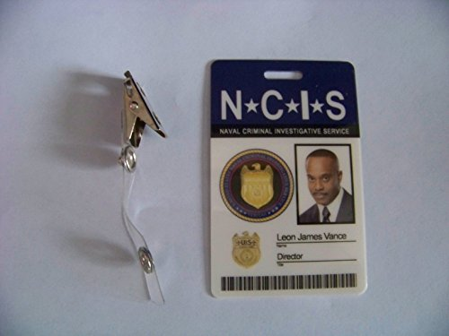 NCIS Navy CIS Director Leon James Vance , ID - Karte , ID Badge