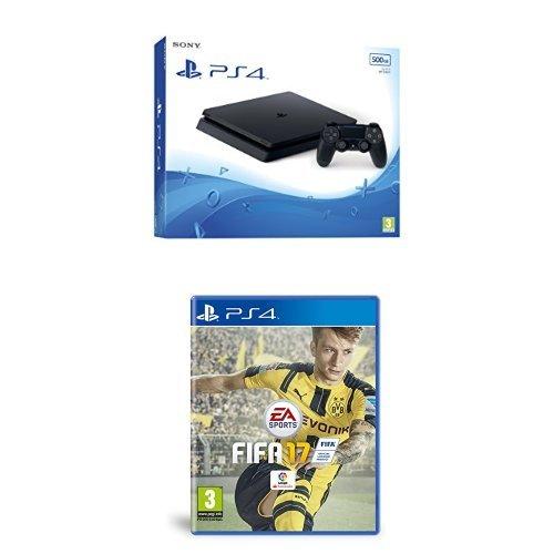 PlayStation 4 Slim (PS4) - Consola de 500 GB + FIFA 17