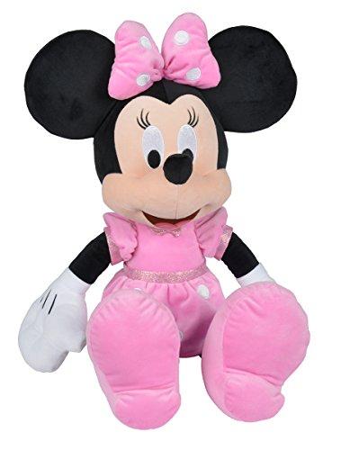 Simba 6315874869 - Disney Plüschfigur, Minnie, 61 cm - Minnie Maus Puppen
