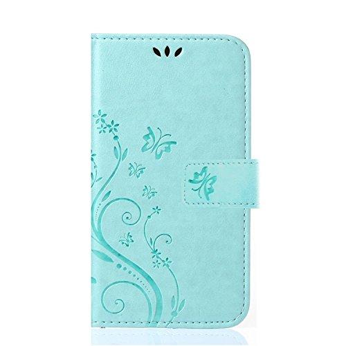 Preisvergleich Produktbild Mate 9 Hülle,COWX PU Leder Hülle für Huawei Mate 9 Tasche Hülle Taschen Schalen