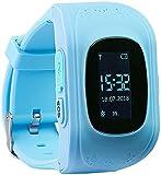 TrackerID GPS Uhr: Kinder-Smartwatch
