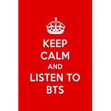 Keep Calm And Listen To BTS: BTS Designer Notebook