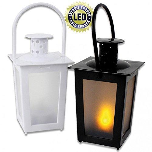 Preisvergleich Produktbild W141X Mini Laterne mit LED Licht - inkl. Griff 15,5cm Teelicht