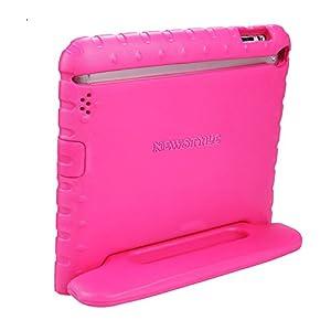 NEWSTYLE Apple iPad 2 3 4 Étui léger pour enfant Super Housse de protection Coque antichoc avec poignée et support pour enfant pour Apple iPad 4, iPad 3 & iPad 2 2ème 3ème 4ème génération