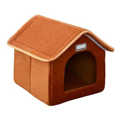 YHEGV Cojín Cama Perro Nest House Pet Small Adecuado