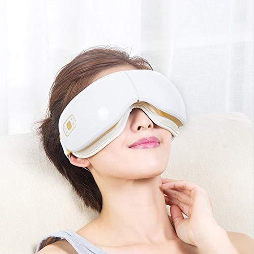 Relaxbx AugenmassagegeräT Sonic, Mit Hitze FüR Trockenes Auge Vibration Zur Erneuerung Geistes Musikluftdrucks Zur Linderung Von MüDigkeit Verbessern Schlaf Entlasten Ihre Augenringe (Sonic Rücken-massagegerät)