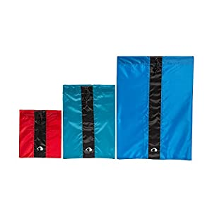 41Hg6sYJwVL. SS300  - Tatonka Flat Bag Set - 16 x 19 cm, Assorted Colours