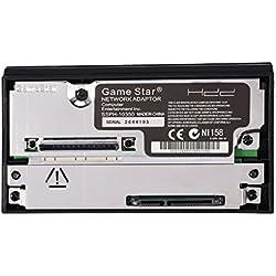 Zerone réseau Adaptateur Interface SATA Disque Dur IDE Disque Dur 6,3cm 8,9cm pour PS2Compatible Carte réseau