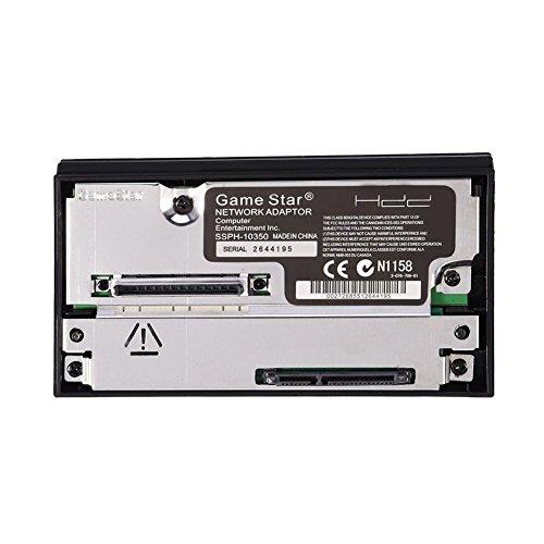 Zerone Netzwerk Adapter SATA-Schnittstelle Festplatte IDE HDD 6,3cm 8,9cm für PS2Kompatibel Netzwerk Karte