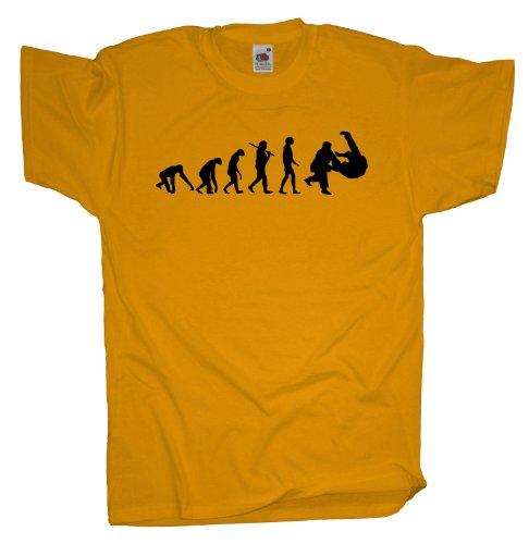 Ma2ca - Evolution - Judo Ringer T-Shirt Sunflower
