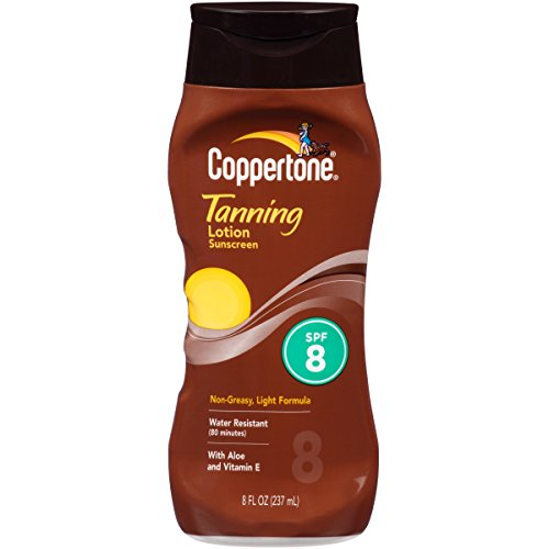 coppertone-tanning-lotion-non-greasy-light-formula-spf-8-8-fluid-ounce-by-coppertone