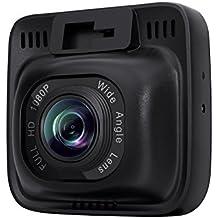 """AUKEY Dashcam, Full HD 1080P, 170° Grados de Amplio Ángulo con Detección De Movimiento, Visión Nocturna, G-Sensor, Loop de Grabación, 2.0"""" LCD Pantalla (DR01)"""