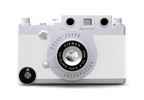 Gizmon iCA GZ-ICA4001 Case für Apple iPhone 4/4S schwarz weiß