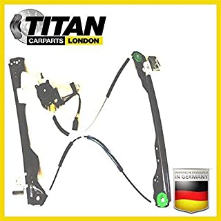 ALPHA TEC Window Regulator For 2/3 Doors Ford Focus MK1 1998-2004 Front Right Driver Off Side With 2 Pin Motor