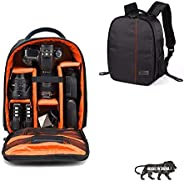 Osaka Pro Series-11 Waterproof DSLR Backpack Camera Bag, Lens Accessories Carry Case for Nikon, Canon, Olympus