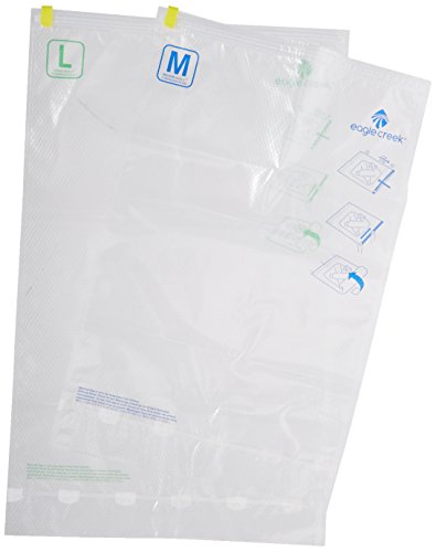 Eagle Creek Vakuumsack Pack-It Set, transparent, 39 x 24 x 1.5, EC-40119000 - Folie Overall