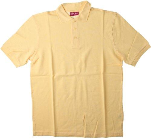Hanes Herren Polo Shirt , Polo Rosa - Pink