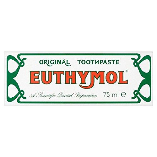 Euthymol Original-Zahnpasta-Schlauch (75 ml) - Packung mit 6