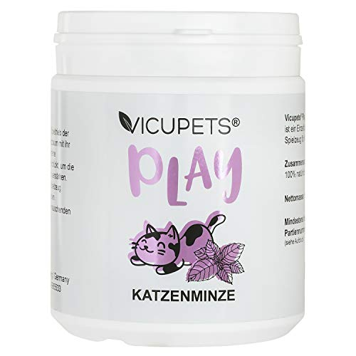 Vicupets Play Katzenminze für Katzen I Fördert den Spieltrieb I Echte Katzenminze I Katzen Minze...
