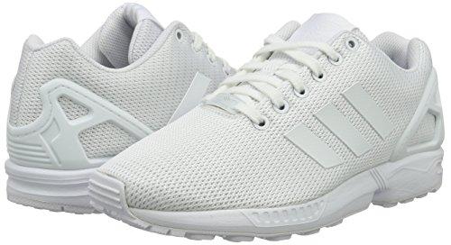 finest selection f1a9d 3e696 Adidas Zx Flux, Scarpe da Corsa Unisex Adulto, Bianco (Ftwr WhiteClear  Grey), 42. Visualizza le immagini