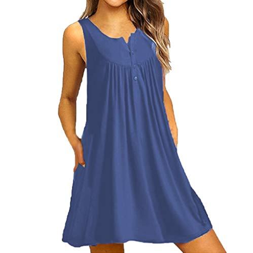 UFACE Damen Kleid Langarm Glitzer Kleid Silber Samt Damen Kleid Langarm Blumen Kleid Silber Mädchen Damen Kleid Langarm Blau Kleid Silberhochzeit ()