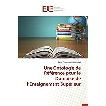 Une ontologie de référence pour le domaine de l enseignement supérieur