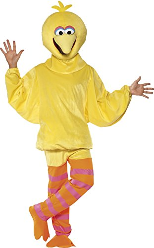 smiffys-womens-sesame-street-big-bird-costume-top-pants-headpiece-size-m-color-yellow-32994