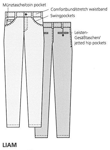 Club of Comfort Jeans Anthrazit