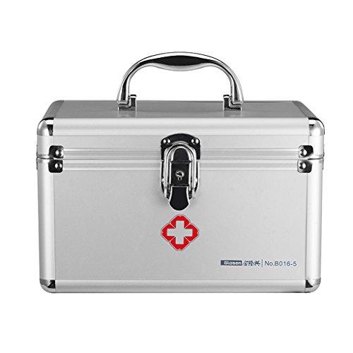 MMM Medicine Box Family Medicine Box Accueil Small First Box Medical Aid Box Out Of The Box Aluminum Medicine Chest