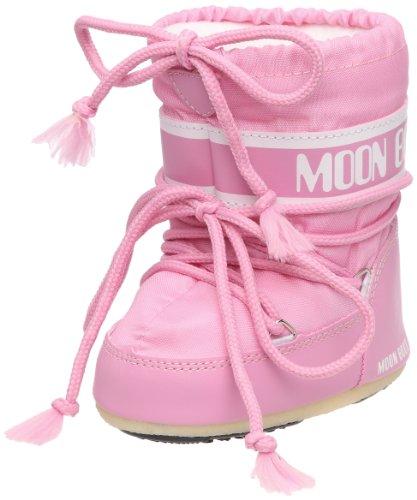 Tecnica MOON BOOT MINI NYLON ROSA, Baby Mädchen Lauflernschuhe, Pink (Pink 063),  19-22 EU (UK 3/5)