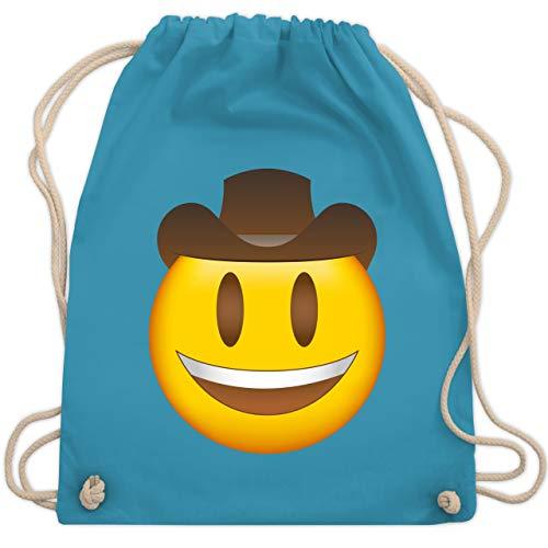 Silber Cowboy Hut - Comic Shirts - Emoji Cowboy-Hut -