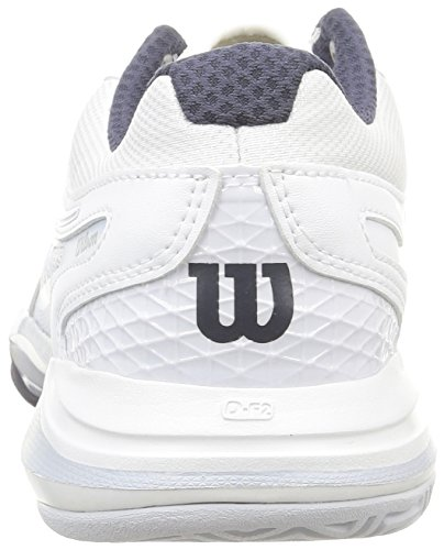 Wilson Nvision Elite, Baskets de tennis homme Blanc (white/pearl gray wil/coal wil)