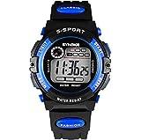 ENFANTS Digital montres pour garçons - étanche montre de sport avec alarme/Timer,...