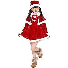 c39753f58 K-youth® Navidad Christmas Bebe Niña Disfraz Traje de Navidad Vestido de  Manga Larga