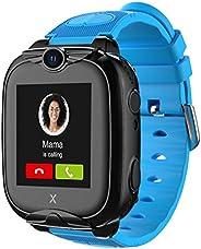 XPLORA XGO 2 - Telefon Uhr für Kinder (SIM-frei) - 4G, Anrufe, Nachrichten, Schulmodus, SOS-Funktion, GPS, Kam