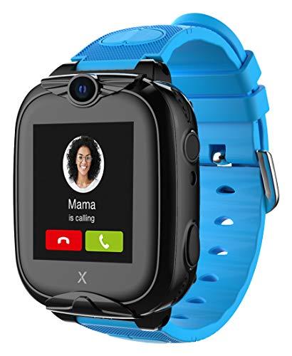 Oferta de XPLORA XGO 2 - Teléfono Reloj 4G para niños (SIM no incluida) - Llamadas, Mensajes, Modo Colegio, SOS, GPS, Cámara, Linterna y Podómetro - Incluye 2 años de garantía (Azul)