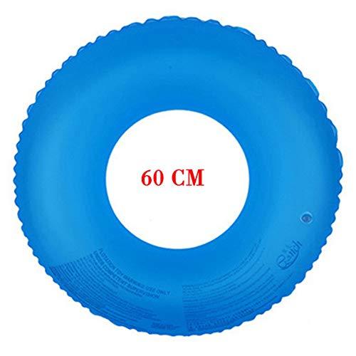 Aufblasbare Schwimmringe Verdicken Pool Float Adult Circle Tube Raft Griff Pool Zum Schwimmen Und Waten 60Cm -